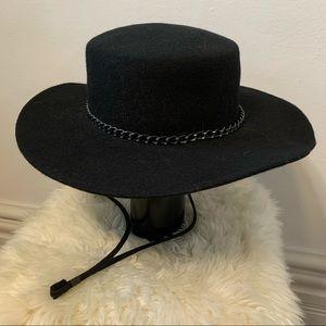 VINTAGE wool bolero hat